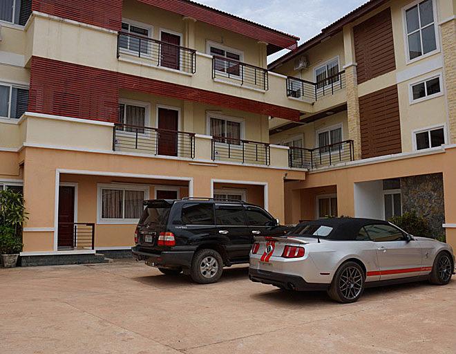 Apartment close to Lao american College